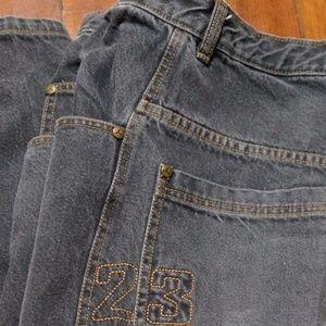 Vintage Mens Jordan 23 Jeans Faded Wash